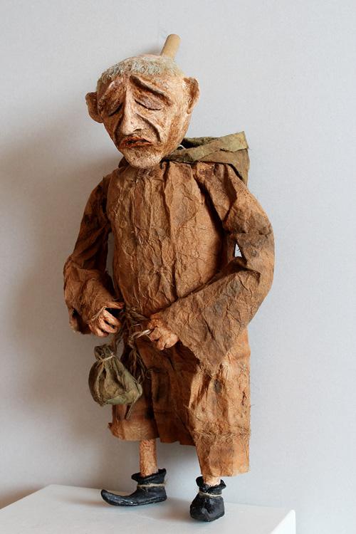 Der Bettelmönch - 2003,  Handpuppe, H: 50cm