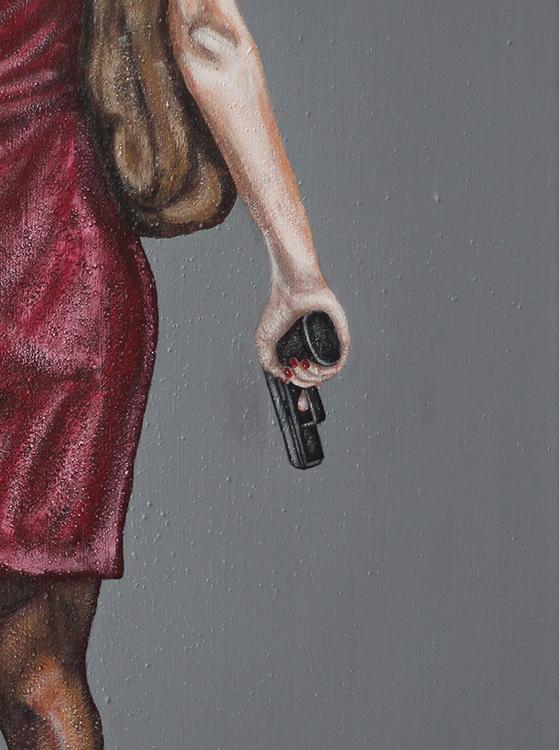 ??? (Detail) - 2017, Acryl auf Leinwand, 60 x 80 cm