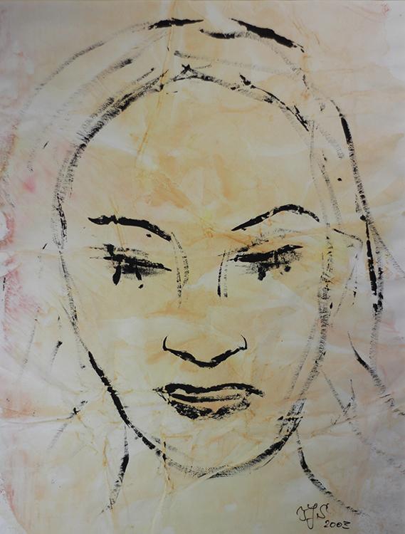 Aus der Serie: Im Laufe der Zeit - 2003, 40 x 50 cm